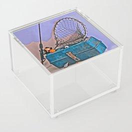 Gone Fishing Acrylic Box