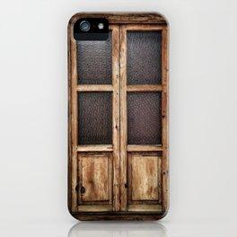 Eronga Warm Window iPhone Case