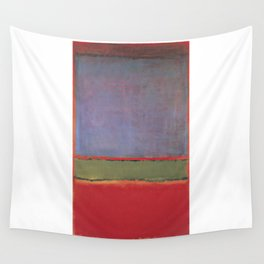 1951 No 6 Violet Green and Red by Mark Rothko Wall Tapestry