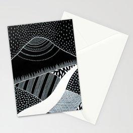 Patterned Landscape 6 Stationery Cards