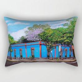 EL Museo Azul Rectangular Pillow