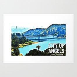 Lake Hollywood Art Print