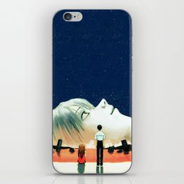 Fly me to iPhone Skin