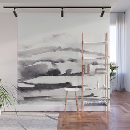 Stacked terrain Wall Mural