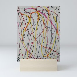 Abstract Splatter Mini Art Print