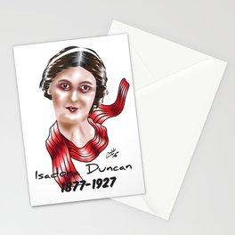 Isadora Duncan Stationery Cards