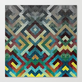 Trapezoidian Tessellation Canvas Print
