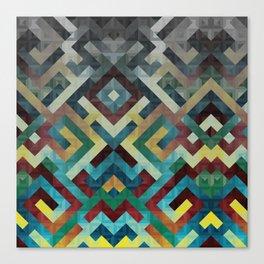 Trapezoidian Tessellation Canvas Print