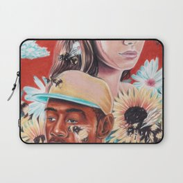 flower boy + girl Laptop Sleeve
