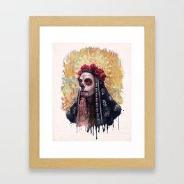 """""""Katrina"""" - Skull girl Framed Art Print"""