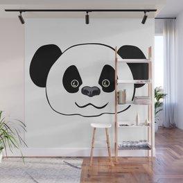 Happy Panda  Wall Mural