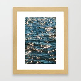 Wade with Me Framed Art Print