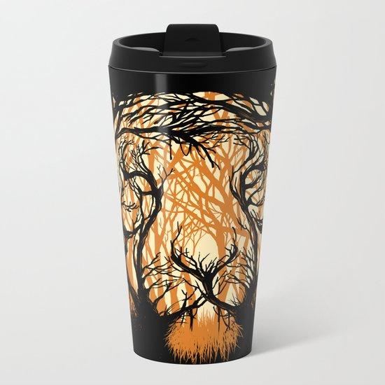Hidden Hunter Metal Travel Mug