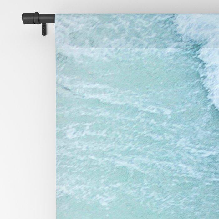 Turquoise Sea Blackout Curtain