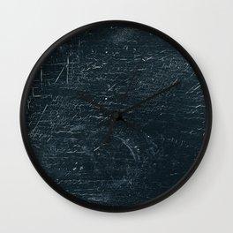 Wooden Dark Wall Clock