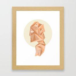 Forgotten Fragments of My Desire Framed Art Print