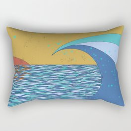 Sunset VIII Rectangular Pillow