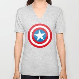 capitan america Unisex V-Neck