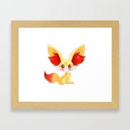 Fennekin Framed Art Print