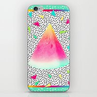 watermelon iPhone & iPod Skins featuring Watermelon by Danny Ivan