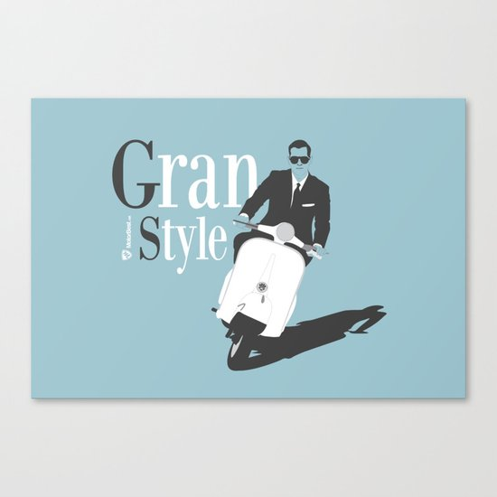 Grand Style Canvas Print