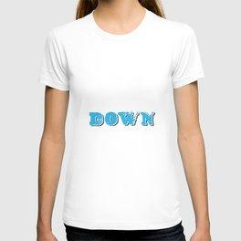 DOWN. T-shirt