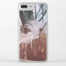 Soft Hello Clear iPhone Case