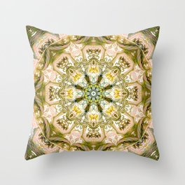 Mandalas from the Heart of Freedom 15 Throw Pillow