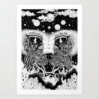 universe Art Prints featuring UNIVERSE by • PASXALY •