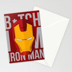 B*tch i'm ironman Stationery Cards