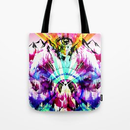 'Magic of the Woods' Illustration by Hannah Stouffer Tote Bag