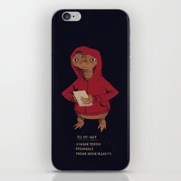 E.T. to-do-list iPhone Skin