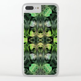 Meteors #6 Clear iPhone Case