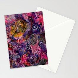 Pink Morning Street Art Graffiti Art Stationery Cards