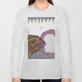 mucus feegind gif Long Sleeve T-shirt