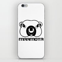 philosophy iPhone & iPod Skins featuring Marmota Philosophy by Hesto