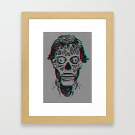 They Live 3D Framed Art Print