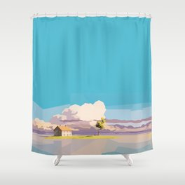 One Way Ride Shower Curtain