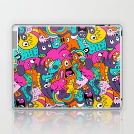 Jumble Bunny Laptop & iPad Skin