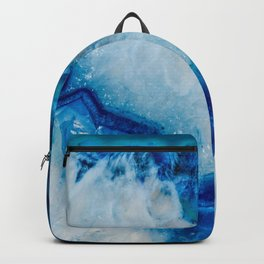 Royally Blue Agate Backpack