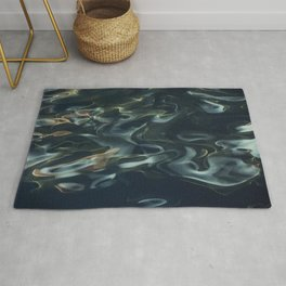H2O # 1 - Water Abtract Rug