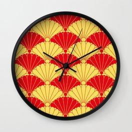 Fan texture Wall Clock