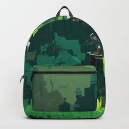 Legend Of Zelda Link Painting Art Backpack