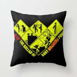 Deaths of Rory Pond Throw Pillow