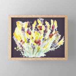 Bursting Bunch of Blots Framed Mini Art Print