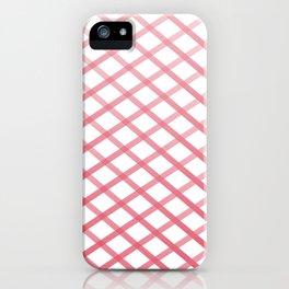 Ox Cross Stitch iPhone Case
