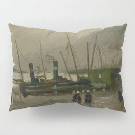 The De Ruijterkade in Amsterdam Pillow Sham