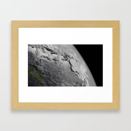Tropical Storm Framed Art Print