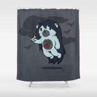 marceline Shower Curtains featuring Marceline Abeardeer by pepemaracas