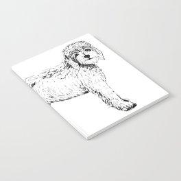 Labradoodle/Goldendoodle Ink Drawing Notebook